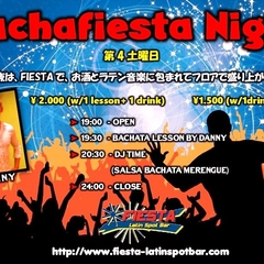 ★BACHAFIESTA NIGHT @新宿FIESTA